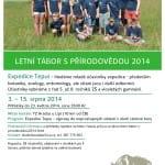 Letní tábor s Přírodovědou 2014