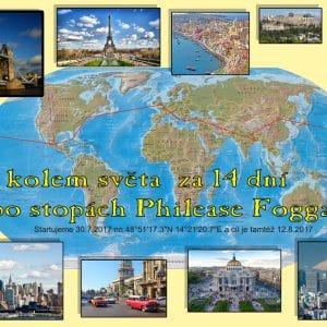 Cesta kolem světa za 14 dní aneb po stopách Philease Fogga