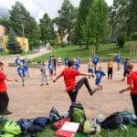 Parkour camp na Štědroníně